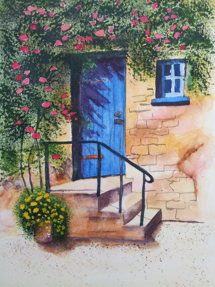 Blue Door (Terry Harrison Workshop)
